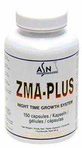 Anabolique naturel avec acides amines et vitamins & minerals ZMA PLUS – 150 gél de 600mg