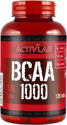 BCAA 1000 XXL 120 onglet Activlab