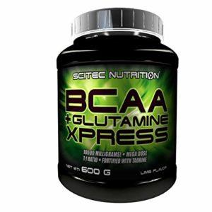 BCAA+Glutamine Xpress – 600g – Citron Vert – Scitec Nutrition