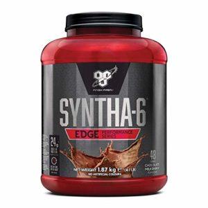 BSN Nutrition Syntha 6 Edge Whey Protéine, Proteine Whey en Poudre avec Caseine pour Prise de Masse Musculaire, Booster Musculation, Chocolat au lait, 48 Portions, 1,87kg