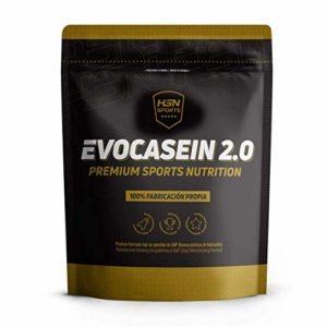 Caséine Micellaire de HSNsports – Evocasein 2.0 – Protéine pour Avant Dormir – Libération Prolongée pendant le soir – En Poudre – Saveur Chocolat – 500g