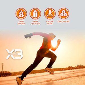 EXQUIS X3 Anti-inflammatoire avec Curcuma Pure, Collagène Hydrolysé, Acide Hyaluronique, Chondroïtine, Glucosamine, MSM – Élimine les douleurs dans les articulations et les muscles – 90 Capsules