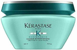 Kérastase – Gamme Résistance – Masque Extentioniste – Soin profond réparateur pour redonner force, matière et vitalité aux cheveux longs – 200ml
