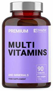 Multivitamine Complète | Multivitamines, Zinc, Fer et Magnésium | 90 Comprimés | Approvisionnement de 3 Mois | Fabriqué au Royaume-Uni par Iron Ore Health
