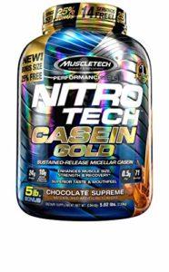 MUSCLETECH NITROTECH CASEIN GOLD 2,28 KG Cioccolato