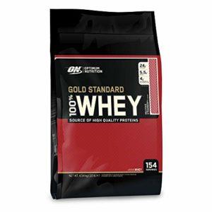 OPTIMUM NUTRITION 100% Whey Gold Standard Protéine Fraise 4.54kg