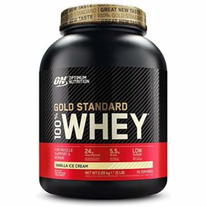 OPTIMUM NUTRITION 100% Whey Gold Standard Protéine Glace Vanille 2.27kg