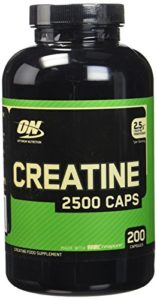 OPTIMUM NUTRITION Creatine 2500 Support Musculaire pour Sportif 200 Capsules 290 g