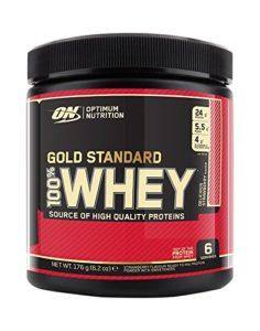 Optimum Nutrition Optimum Nutrition Whey – Fraise – Avec poudre de whey protéine isolate