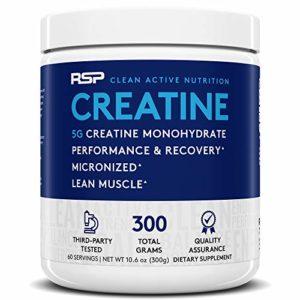 Rsp Nutrition FID42511 Creatine Monohydrate Acides Aminés Créatine