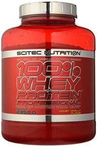 Scitec Nutrition 100% Whey Protein Professional miel-vanille 2350 gr