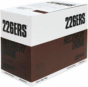 226ERS Récupération Musculaire avec Whey Protéines, Créatine, Triglycérides et L-Arginine, Chocolat – 15 doses x 50 gr