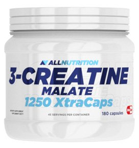 All Nutrition 3-Créatine Malate 1250 Xtracaps 360 Gélules