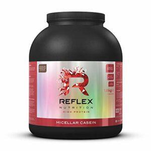 Reflex Nutrition Micellar Casein | Shake Protéiné en Poudre à Libération Lente (Chocolat, 1,8kg)