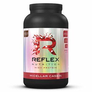 Reflex Nutrition Micellar Casein | Shake Protéiné en Poudre à Libération Lente (Chocolat, 909g)