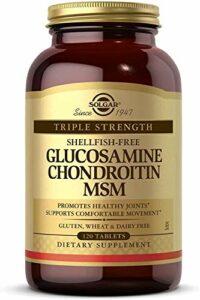 Solgar Glucosamine Chondroïtine MSM Complexe 60 Comprimés