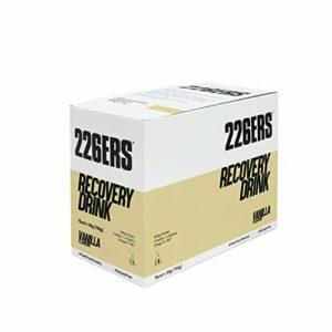 226ERS Récupération Musculaire avec Whey Protéines, Créatine, Triglycérides et L-Arginine, Vanille – 15 doses x 50 gr