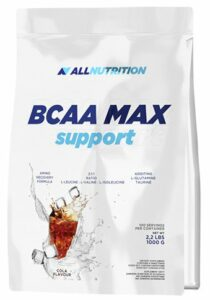 All Nutrition Bcaa Max Support Orange Poudre