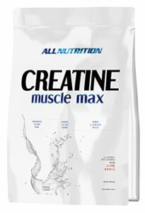 All Nutrition Créatine Muscle Max Poudre pour Régénération Musculation