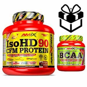 Amix Pro Iso HD 90 CFM Protein 1 800 g Moca Choco Café + Bcaa Instant + Mélangeur