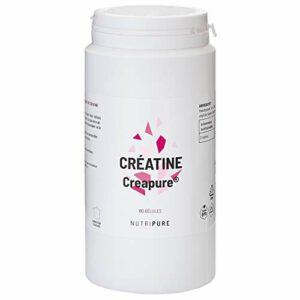 CRÉATINE monohydrate 100% pure CREAPURE® • pour la Force Musculaire • Idéale pour les sports intensifs et la musculation • Vegan • Goût neutre • 150 G Poudre / 180 gélules • NUTRIPURE