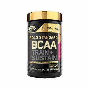 Optimum Nutrition Poudre Bcaa Gold Standard Pêche/Fruits de la Passion