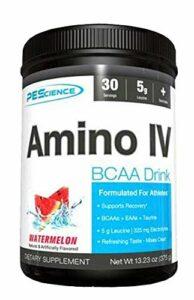 PEScience Amino Iv Bcaas + Eas Acide Aminé Raisin Framboise