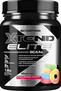 Scivation Xtend Elite Bcaa Sour Gummy Acide Aminé
