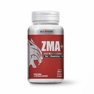 ZMA + Zinc,Magnésium, Vitamine B6 – Enrichi en Noni – 120 Gélules