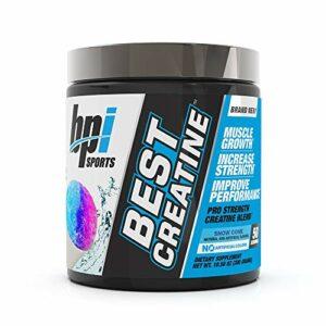 BPI Sports Supplément sportif de créatine 50 portions Cône de neige