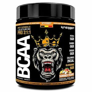 K BCAA 2:1:1 Glutamine Summer Tropic 600GR Acides aminés Performance EFFICACITÉ