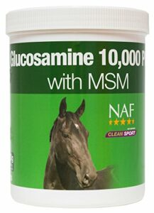 Natural Animal Feeds NAF Glucosamine 10000 Plus avec MSM – 900g