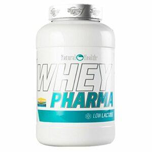 Natural Health Whey Pharma – 908 g – Saveur : fruits rouges