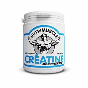 Nutrimuscle – Créatine Creapure – 120 Gélules