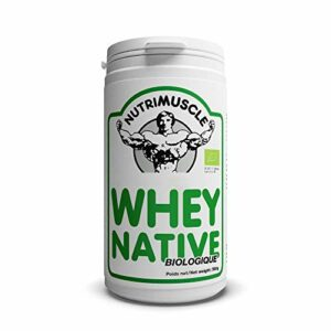 Nutrimuscle – Whey Native Biologique – 500 g