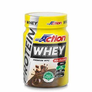 PROACTION PROTEINE WHEY Protein Rich Chocolate 400 GR