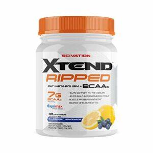 Scivation Limonade aux Bleuets Bcaa Xtend Ripped Acide Aminé