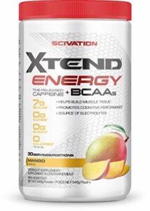 Scivation Xtend Energy Bcaa Mango Nectar Acide Aminé