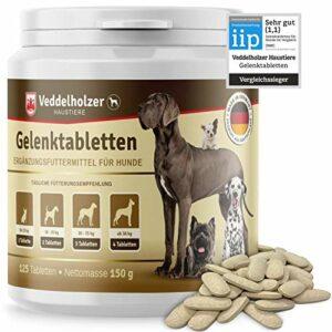 Veddelholzer MSM & Teufelskralle Glucosamine & collagène pour renforcer les articulations et le cartilage en Allemagne 125 gélules avec hyaluron & Omega3
