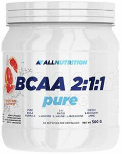 Allnutrition BCAA 2:1:1 Pure Fraise 500 g