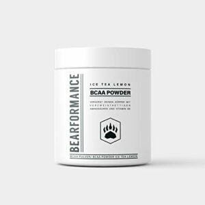 Bearformance BCAA Poudre (Ice Tea Lemon)