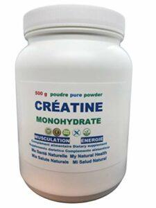 CRÉATINE MONOHYDRATE 500 g – poudre