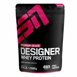 ESN Designer Whey Protein Fraise Milk Shake 2,5 kg