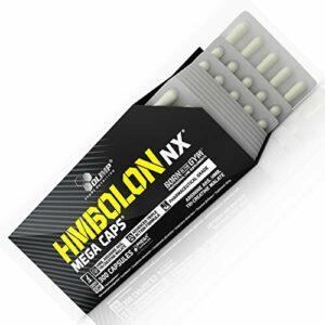 HMBOLON Blisters | HMB + L-Arginine + Tri-Créatine Malate | Pilules anabolisantes + anticataboliques | Fat Burner et Muscle Mass Builder | Pas de boîte (30 gélules)