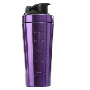 HUANGDANSEN Protein Shaker Whey Protein Powder Sports Shaker Bottle for Water Bottles Gym Nutrition Blender Cup Stainless Stee