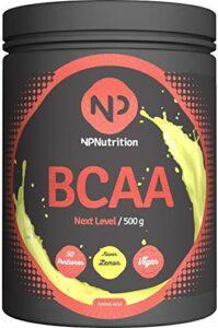 NP Nutrition Next Level BCAA 500 g Jaune citron