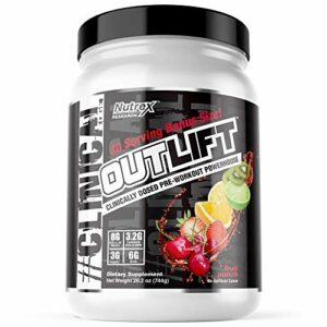 Nutrex Research FID58216 Outlift Clinical Edge Acides Aminés BCAA