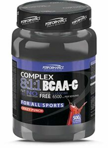 Performance Sports Nutrition – BCAA-G 8:1:1 Complex (Blue Raspberry – 500 gram)