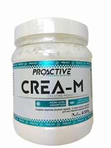 ProActive Worldwide Nutrition, Crea M 500g – creatine monohydrate powder (Melon d`eau)