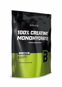 100% Creatine Monohydrate Poudre de creatine monohydrate de qualite pharmaceutique, sans saveur, 500 g Sac